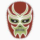 Vintage Lucha Libre Mask 03 by EmilioPereiro