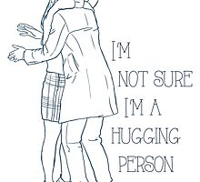 Not a hugging person by Rose24601