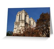 Notre-Dame de Paris – French Gothic Elegance in the Heart of Paris Greeting Card