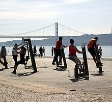 Exercising to a View by trish725