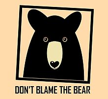 DON'T BLAME THE BLACK BEAR by Jean Gregory  Evans