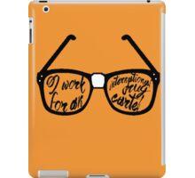 Drug Cartel- Glasses iPad Case/Skin