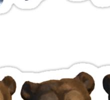 The Brave - Bears Sticker