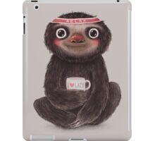 Sloth I♥lazy iPad Case/Skin