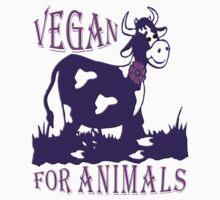 VEGAN FOR ANIMALS Kids Clothes