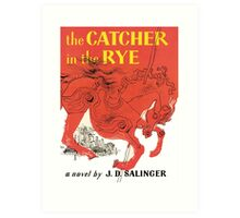 Catcher in the Rye  Art Print