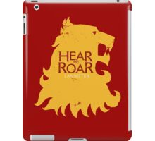 Hear me Roar/Lannister sigil iPad Case/Skin
