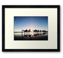 The Camels Framed Print