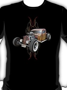 Pinstripe RAT - Full Throttle T-Shirt
