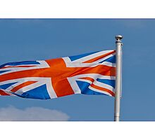 The Union Flag of UK by Robert Gipson