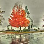 Amissville United Methodist Church by James Brotherton