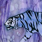 Tyger! Tyger! burning bright. In the forests of the night... by Claudia Dingle