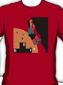 Rock Climbing Outdoor Abstract T-Shirt