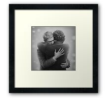 John and Sherlock Framed Print