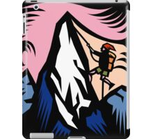 Mountain Climbing Abstract iPad Case/Skin
