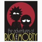 Rick and Morty Adventures A Hundred Years sticker by lavalamp