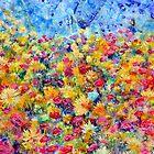 Floral Fireworks by Regina Valluzzi