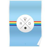 My Little Pony - Rainbow Dash Hipster Logo Poster
