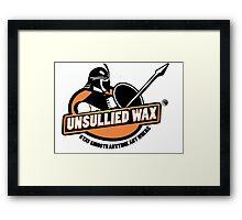 Unsullied Wax Framed Print