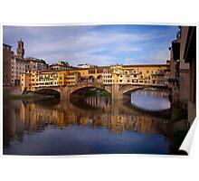 Vecchio Bridge Florence Poster