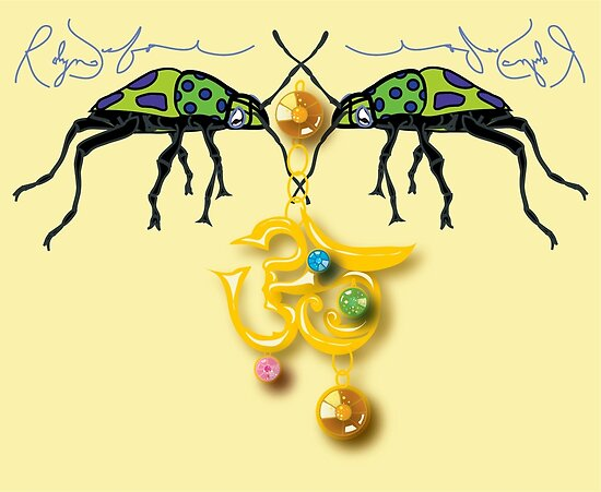 Aum Jewel Bug (2008) by Robyn Scafone