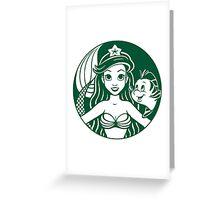 Sirenbucks Greeting Card