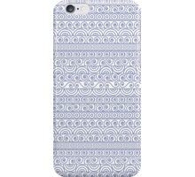 Circles and Curls Patterns iPhone Case/Skin