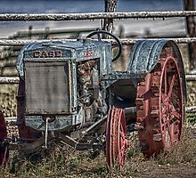 Vintage Case Tractor by damhotpepper