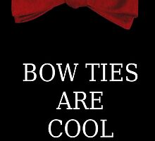 BOW TIES ARE COOL! by cumberbitchhaha