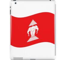 Three Headed Elephant Flag Wave iPad Case/Skin