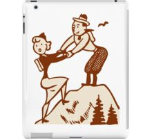 Hike Hiking Vintage iPad Case/Skin