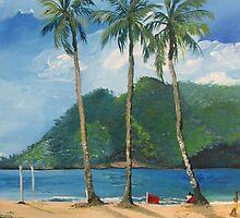 Maracas Bay 2, Trinidad WI by Samantha Rochard