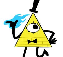 Bill Cipher - Gravity Falls by Celticers
