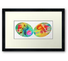 Pro Era Tie Dye Framed Print