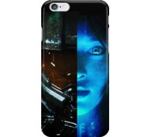 Master Chief and Cortana iPhone Case/Skin