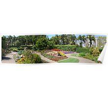 Gardens panorama Poster