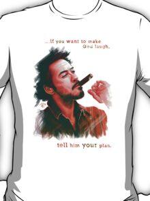 Robert Downey Jr. with cigar, digital painting  T-Shirt