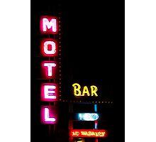 Motel  - Bar -  HBO - No Vacancy Photographic Print