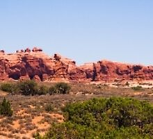 Arches National Park Sweeping Vista by Kenneth Keifer