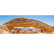 Mesa Arch in Canyonlands National Park, Utah Photographic Print