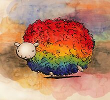 Nyan Sheep by studinano