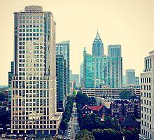 Hazy Lazy Sunday in Atlanta, Ga. by Scott Mitchell
