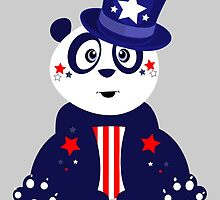 Patriotic Panda by Adamzworld