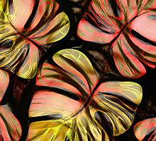 Tropical Foliage / Copper by DreaMground