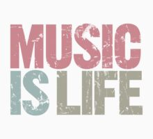 Music is Life (Special Edition) Kids Clothes