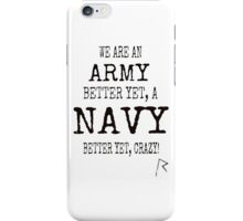 We are Rihanna Navy (Black typography) iPhone Case/Skin