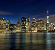 New York Skyline by Eunice Gibb