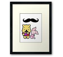 Mustache Babies~ Framed Print