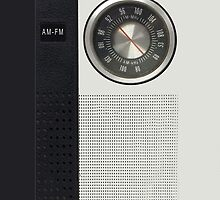 Vintage Transistor Radio iPhone Case by ImageMonkey
