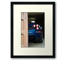 Pagani Tease Framed Print